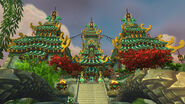 Temple of the Jade Serpent Enterance
