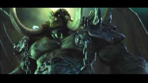 WarCraft III Thrall&Grom gegen Demonen Lord