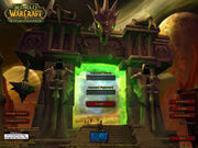 Login screen The Burning Crusade