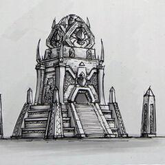 Другая постройка нерубов.