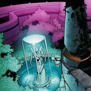 Świątynia Księżyca w Darnassus na kartach komiksu