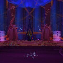 Samotnia Wielkiego Mistrza, wewnętrzne sanktuarium Kael'thasa Słońcobieżcy