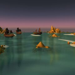 Корабли пиратов Южных Морей