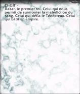 Affiche (Crypte du Premier roi)