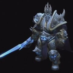 The Lich King Arthas in <a href=