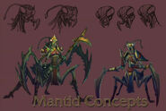Mantid Concept Art 6