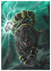 The Wrath of Thrall by Lillidan86