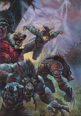 Wolfheart Varian and Worgen