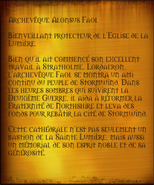 Archevêque Alonsus Faol (objet)