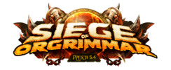 Oblężenie Orgrimmaru - logo łatki