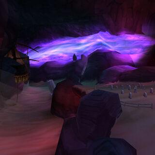Кладбище в Пещерах Времени