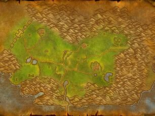 Arathihochland Karte