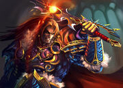 Varian wrynn by william Hung