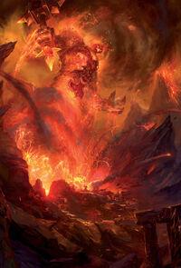 Thaurissan invoque le seigneur du feu Ragnaros