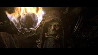 Реклама вступительного ролика World of Warcraft