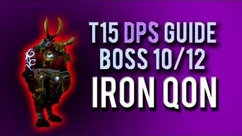 """Iron Qon"" DPS Guide → Boss 10 12 in Throne of Thunder"