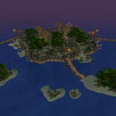 Острова Эха после катаклизма