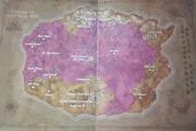 Carte - Chroniques 1 - L'empire des elfes de la nuit