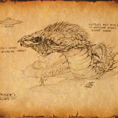 A giant worm living in Northrend, the dreaded <a class=