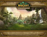 Mists of Pandaria Wandering Isle loading screen