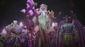 Velen rallies Vindicaar