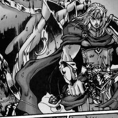 Arthas stands triumphant.
