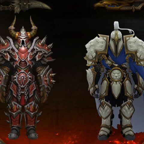 Warfront zbroja set 2