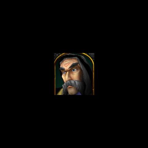 Портрет Даэлина в Warcraft III.