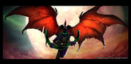 Illidan Stormrage Art Peter Lee 3