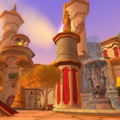 The Court of the Sun to miejsce zaraz obok Sunfury Spire.