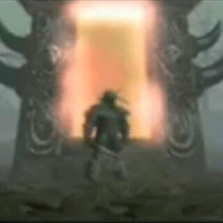 Draenorska strona Mrocznego Portalu widziana w animacji orków