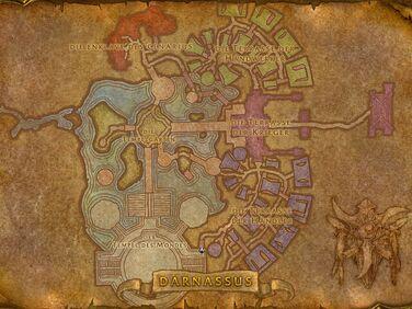Darnassus Karte