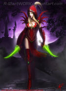 Valeera sanguinar by r 12artwork-d8f4jg4