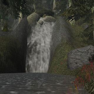Водопад Темных берегов