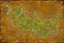WoW Ashenvale Map