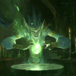 Агат маны: Маги уникальны в своей способности хранить ману для будущих битв без помощи алхимии.