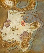 Broken Pillar Digsite map