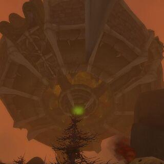 Чёрный Оплот Акеруса (вид снизу)
