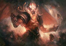Саргерас, Падший титан
