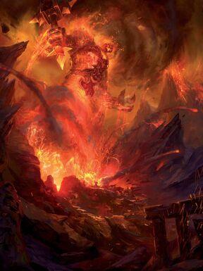 Invocation de Ragnaros