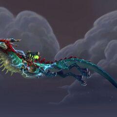 Поводья грозового нефритового облачного змея