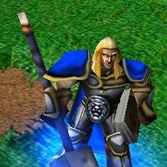 Артас-паладин из <i>Warcraft III</i>.