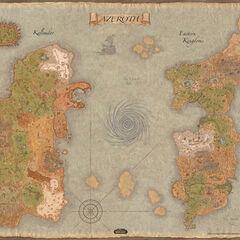 Карта Азерота