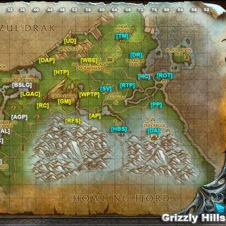 Szczegółowa mapa krainy