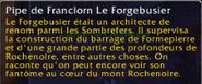 Pipe de Franclorn Le Forgebusier texte