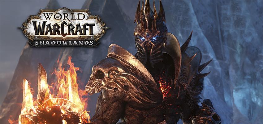 World of Warcraf Shadowlands (слайдер)
