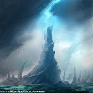 Grafika koncepcyjna Zamarzniętego Tronu