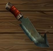 Dague recourbée en parfait état
