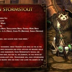 Information about Chen Stormstout.
