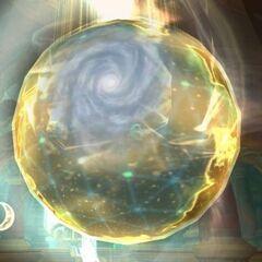 Вид Водоворота на глобусе в <a class=